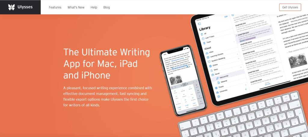 Ulysses is one of the ultimate writing tools for writers