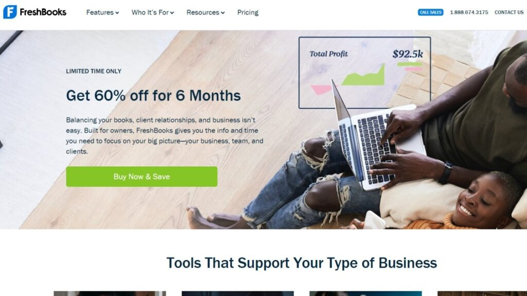 Freshbooks is one of the user friendly invoicing tools to send invoices
