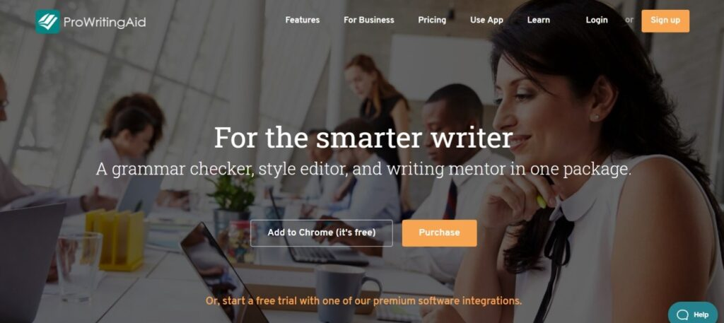 ProWritingAid is one of the easy to use writing tools for writers