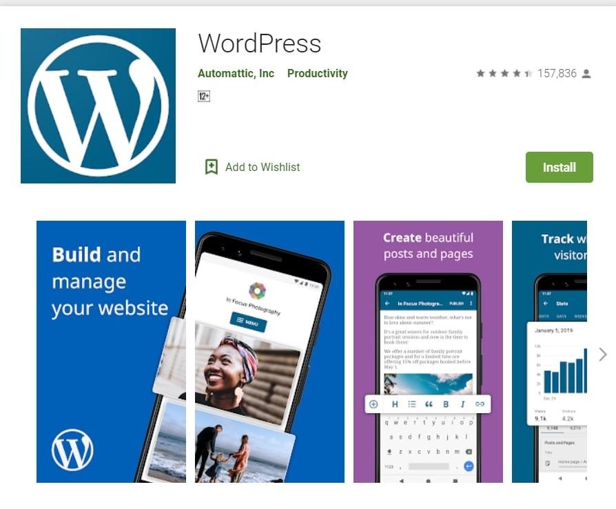 WordPress App: Manage Your Blog