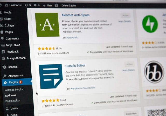 how to create an author website