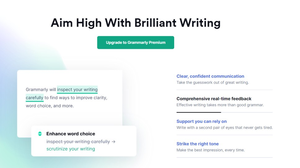 You can know about Grammarly review with the help of comprehensive explanation in this article and Grammarly Premium has advanced features to make your writing process simpler and free of errors.