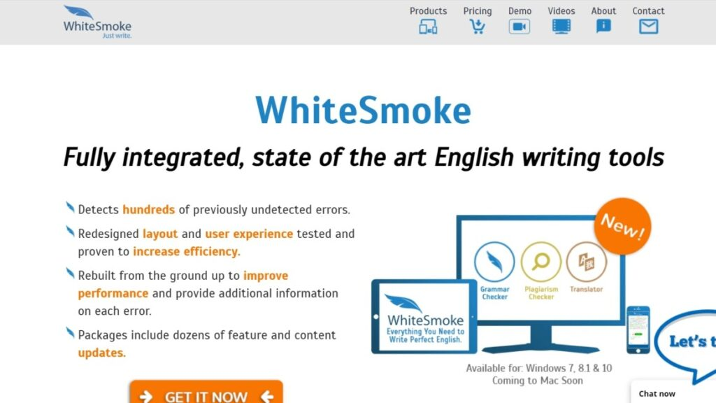 WhiteSmoke is a good tool to write without typos and errors. This is also an good alternative to other tools to write hassle-free.